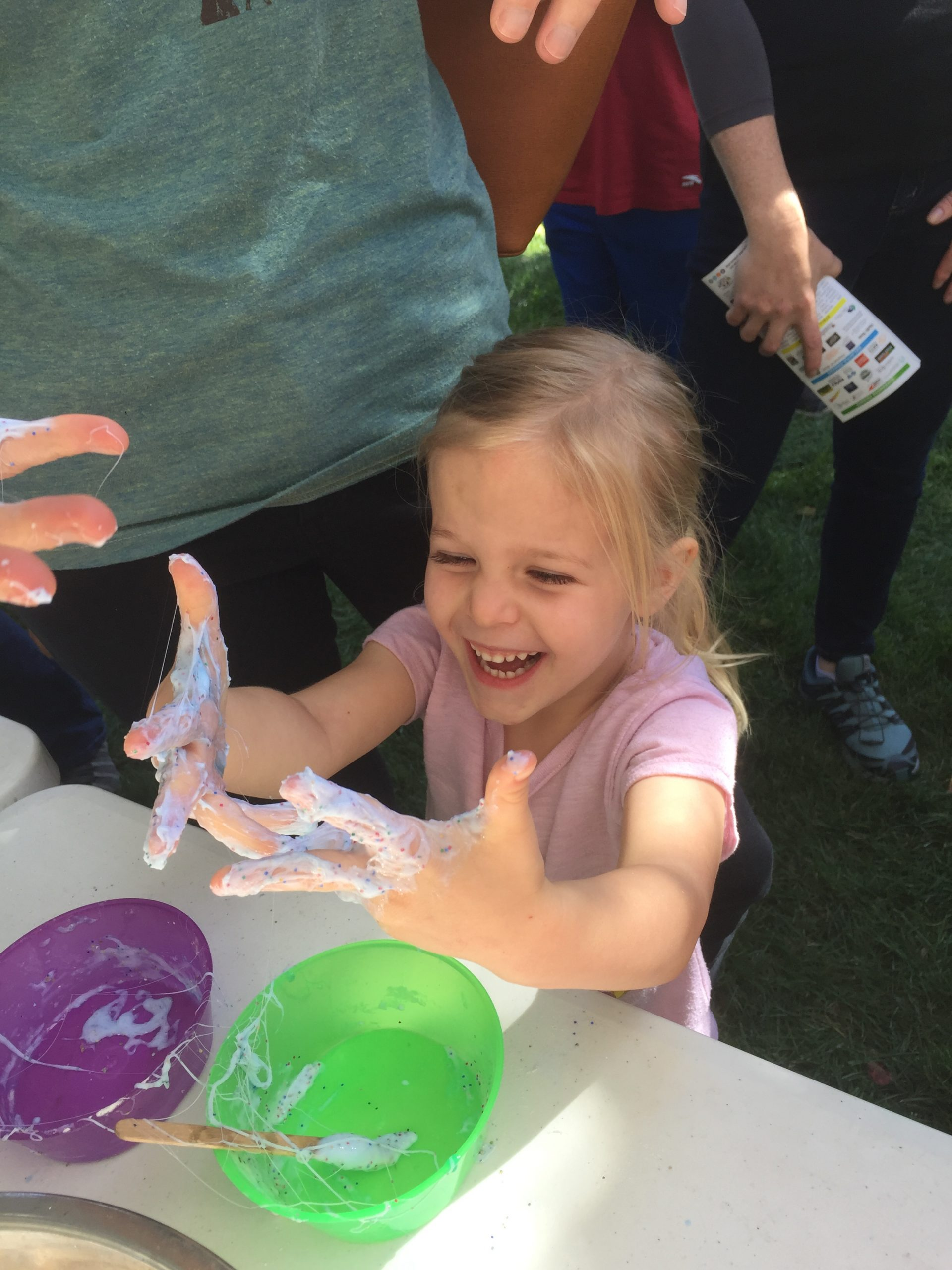 Slime Making at Flagstaff Festival of Science